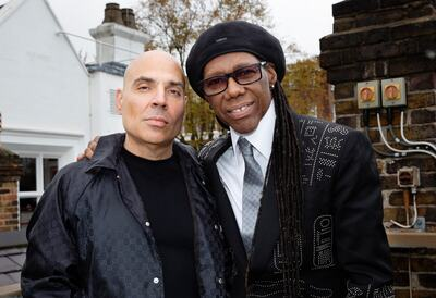 Merck Mercuriadis and Nile Rodgers