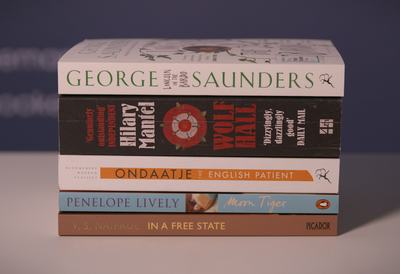 Golden Man Booker prize - shortlisted novels