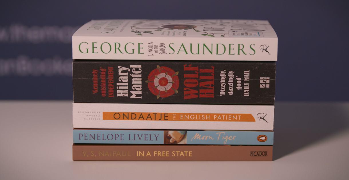Golden Man Booker prize - shortlisted novels