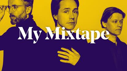 Mew graphic with words 'My Mixtape'