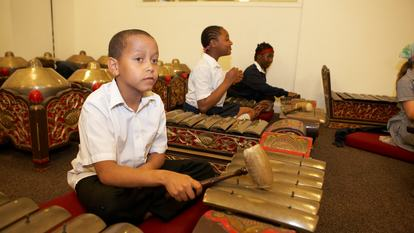 Free Gamelan and Poetry workshop for Lambeth Schools