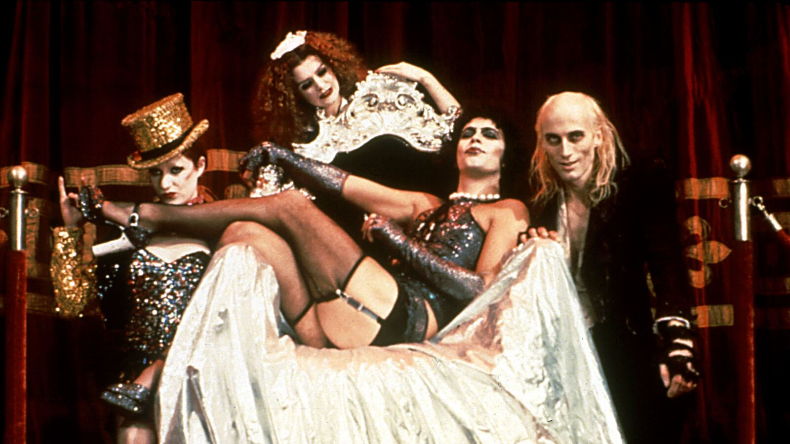 Film still from Rocky Horror Picture Show (1975)