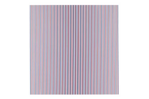 Chant 2, by Bridget Riley, painted in 1967