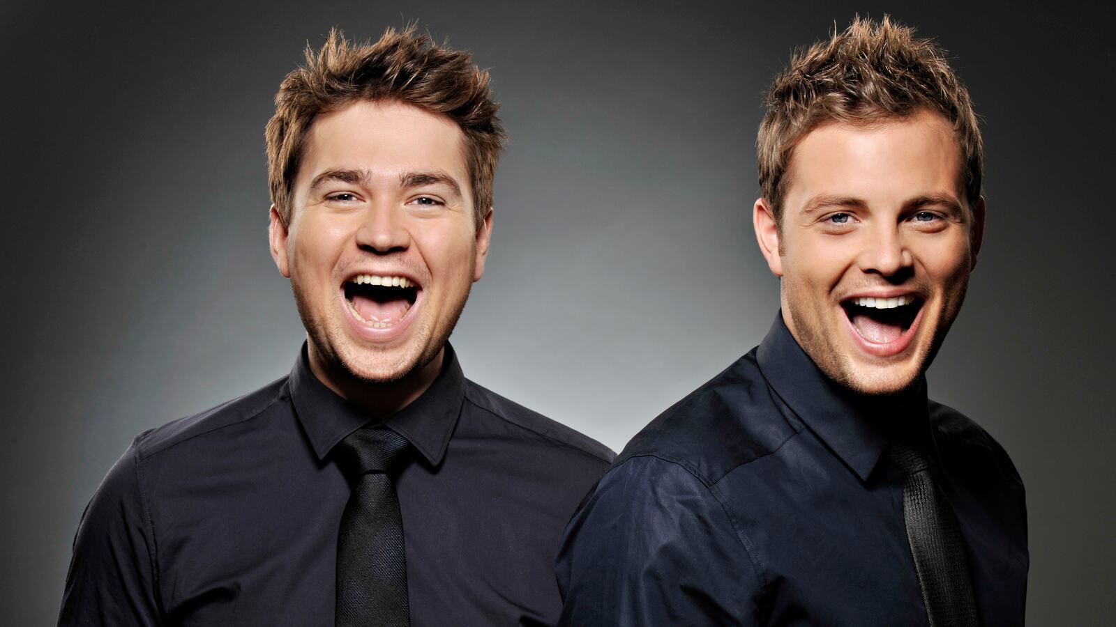 Sam and Mark, kids' TV presenters