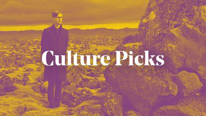 Graphic for Culture Picks blog featuring Vikingur Olafsson