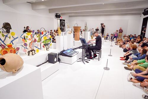 Video Still Oliver Beer, Vessel Orchestra - Nico Muhly performance at The Met Breuer, The Metropolitan Museum of Art, 2019