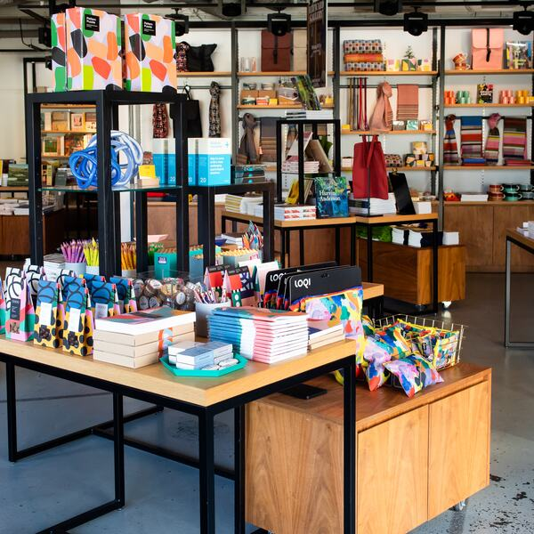 Hayward Gallery Shop, books, notebooks, tote bags, chocolate