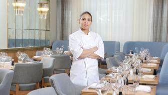 Keri in restaurant 01.JPG CREDIT MATT WRITTLE