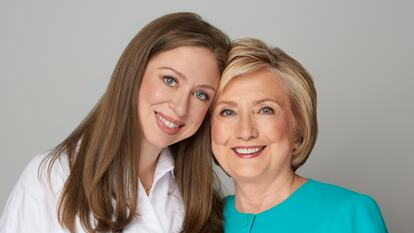 Chelsea Clinton and HIllary Rodham Clinton