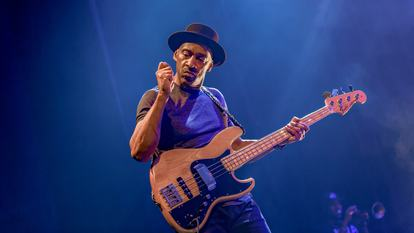 Marcus Miller, jazz composer and musician