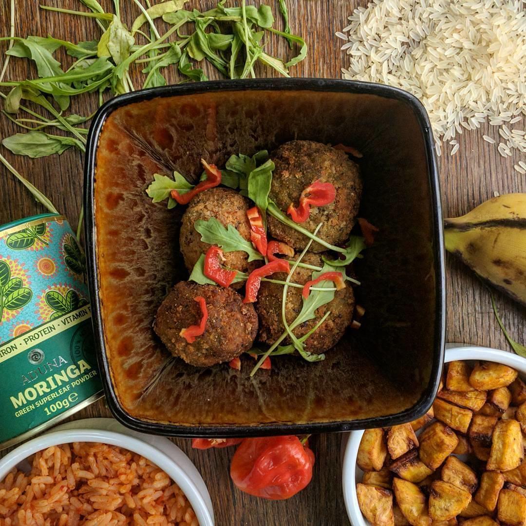 Africa Utopia - Jollof Rice and Plantain Arancini - Chuku's