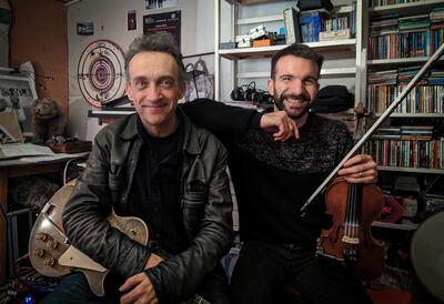 Justin Adams & Mauro Durante, musicians
