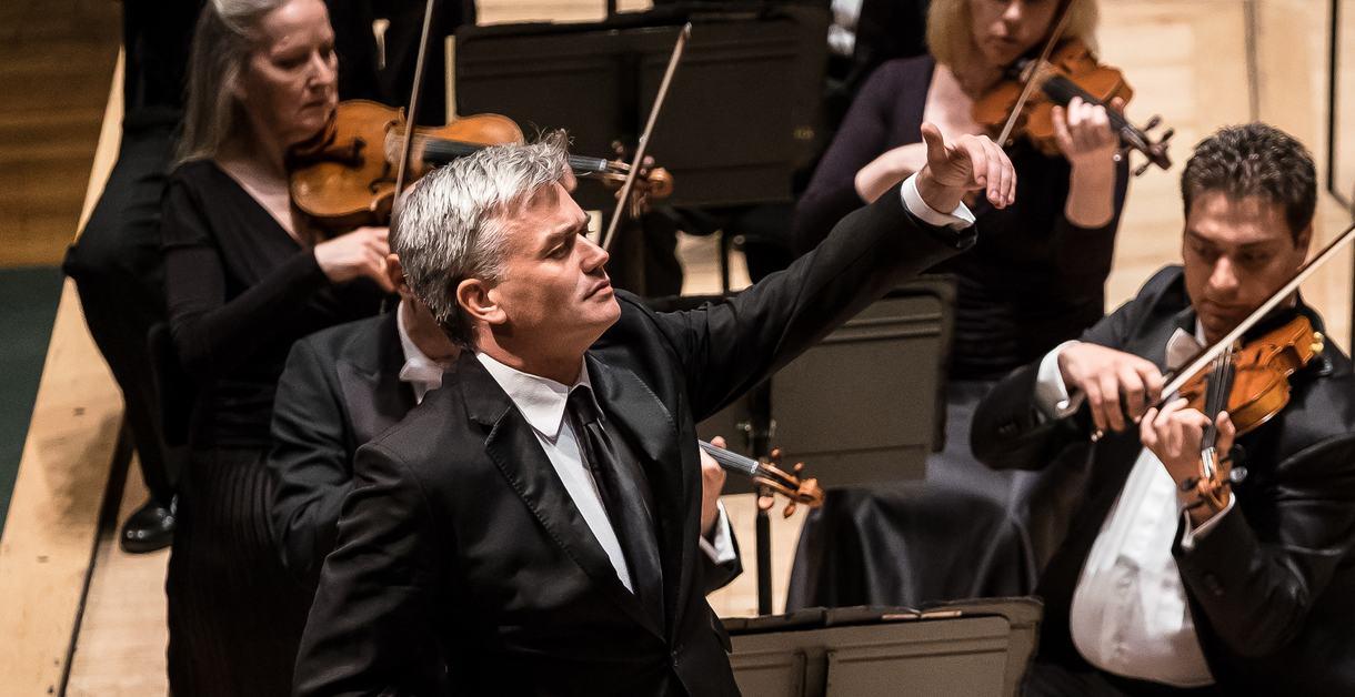 EDWARD GARDNER - conductor;.Philharmonia Orchestra;.Royal Festival Hall;.London, UK;.5 May 2016;..Elgar Symphony No 2..Credit: © CLIVE BARDA/ ArenaPAL;