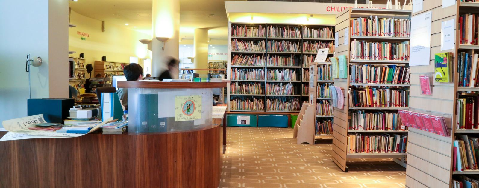 Southbank Centre Poetry Library.Royal Festival Hall.Library, rare books, visitors