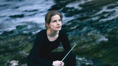 Tabita Berglund, conductor