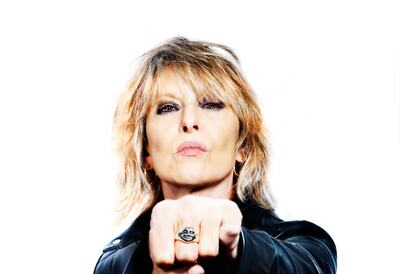 Chrissie Hynde, singer-songwriter