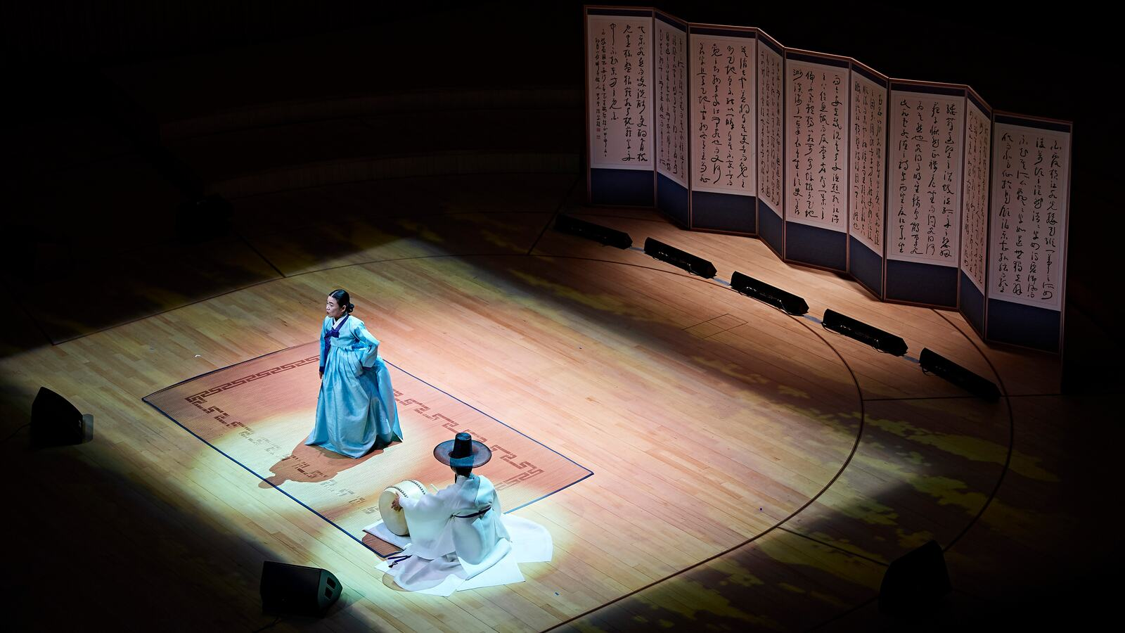 Korea traditional opera performance