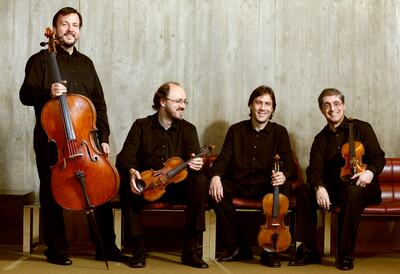 Borodin Quartet, string quartet