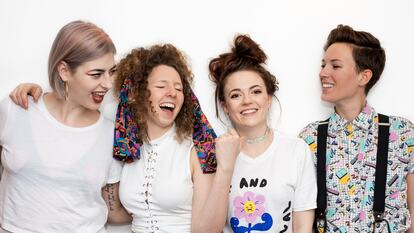 The feminist punk band Dream Nails