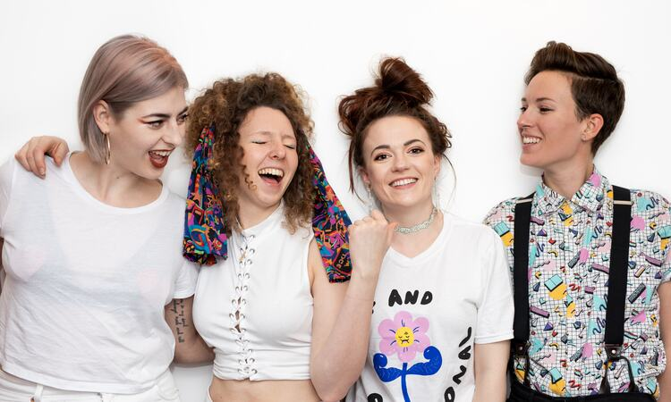 The feminist punk band Dream Nails