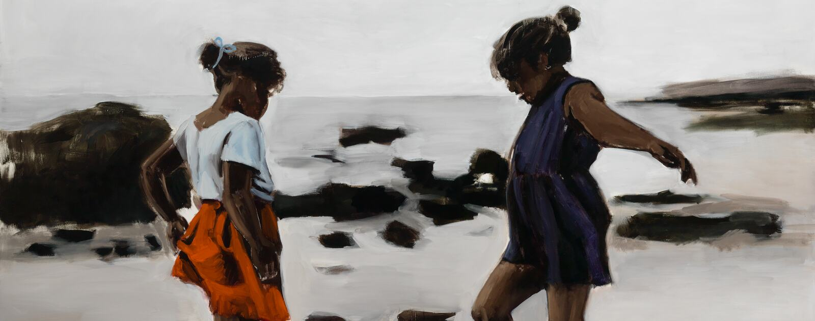 Lynette Yiadom-Boakye Condor and The Mole, 2011 Oil on canvas Arts Council Collection, Southbank Centre, London  © the artist.