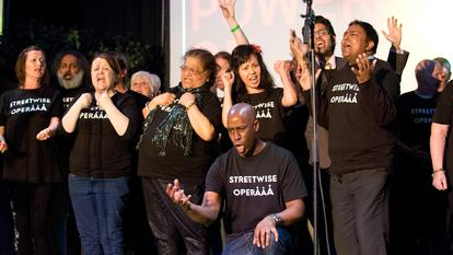 Feelings of Home, Streetwise Opera on stage