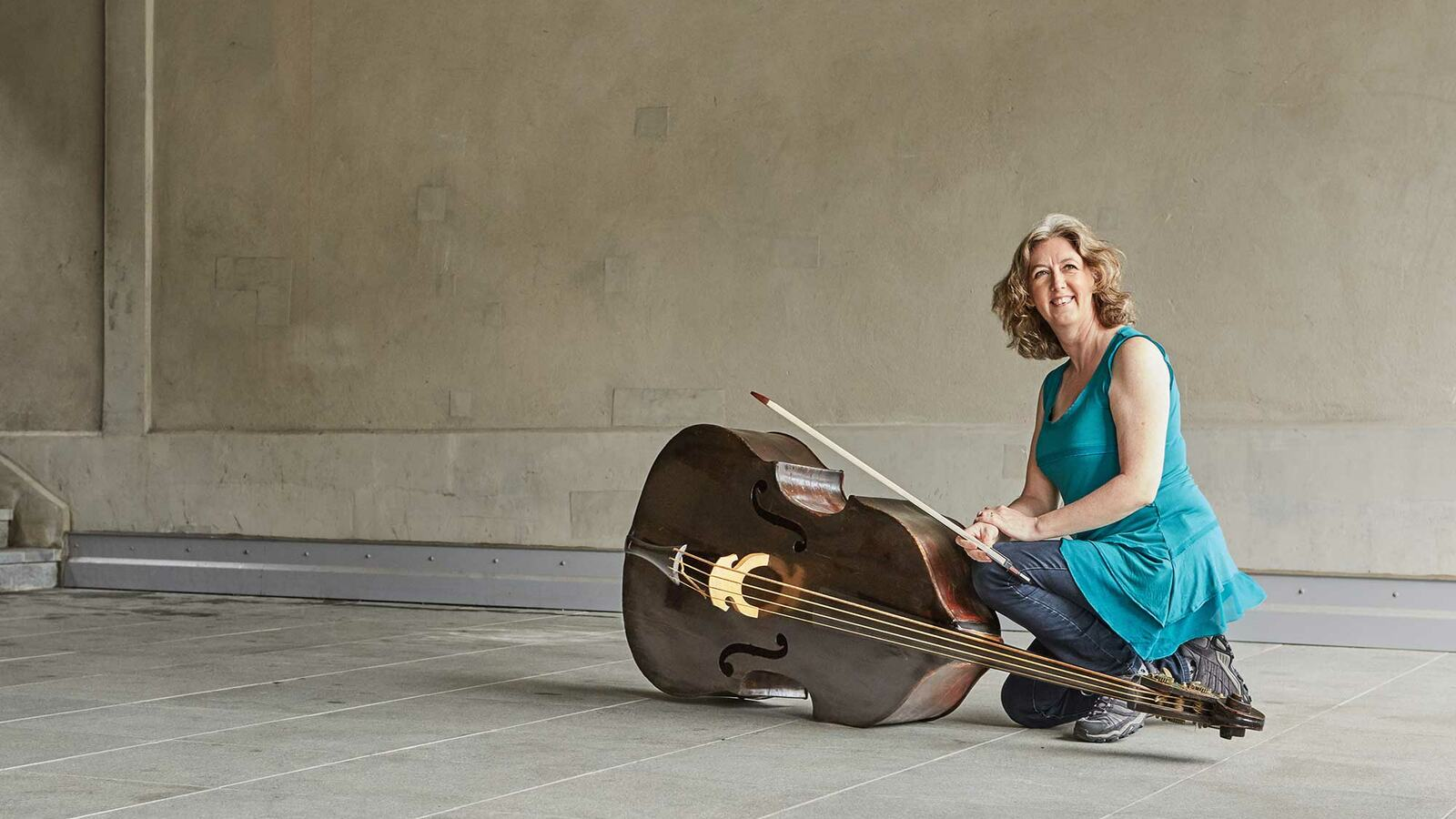 Cecelia Bruggemeyer, double bass