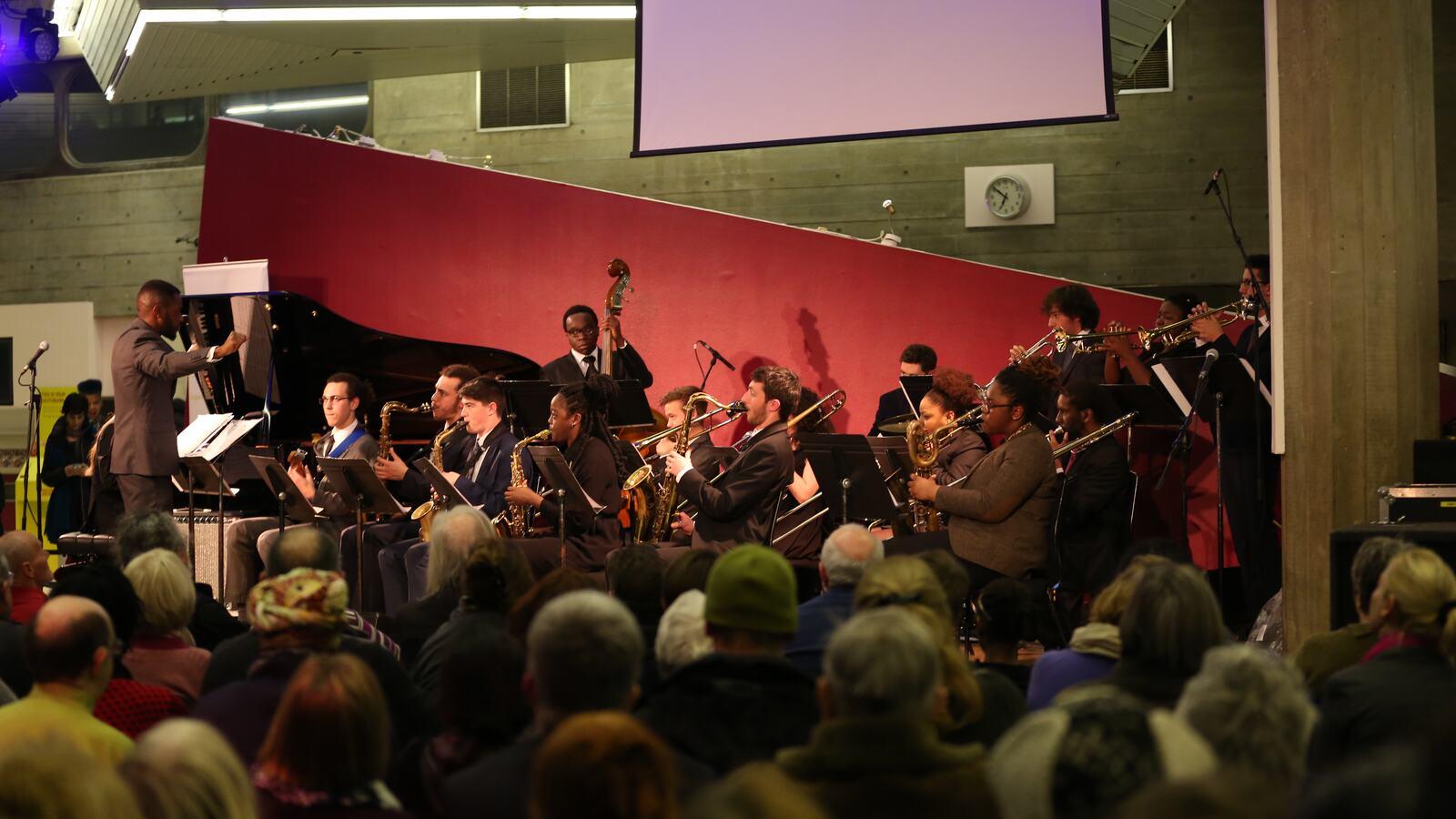 Tomorrow's Warriors Soon Come Orchestra in Queen Elizabeth Hall