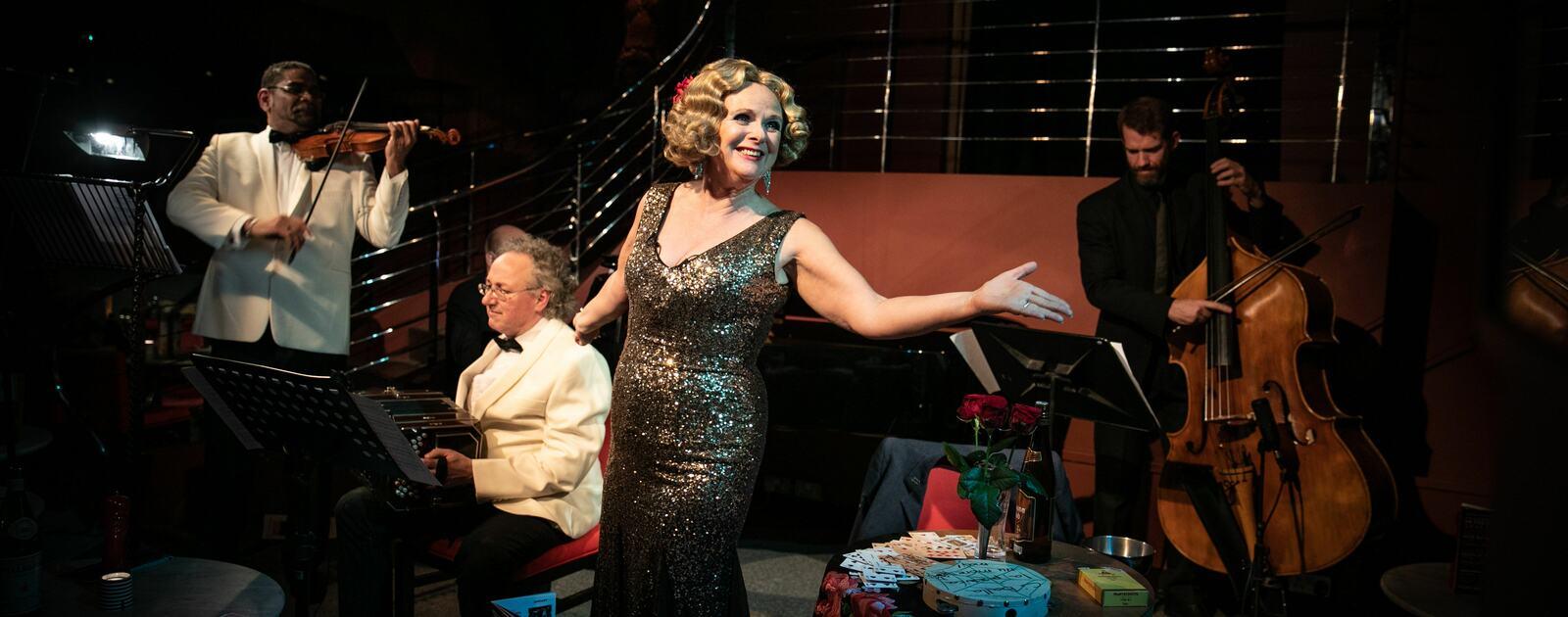 Ann Liebeck performs Marlene in Havana