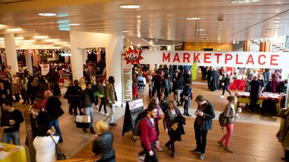 WOW Marketplace in Royal Festival Hall, Southbank Centre