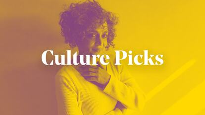 Culture Picks graphic featuring Arundhati Roy