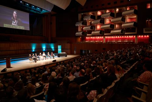 Man Booker live reading in Royal Festival Hall
