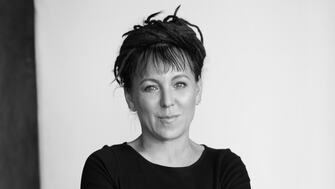 Olga Tokarczuk, author of Drive Your Plow Over The Bones Of The Dead, longlisted for the 2019 International Man Booker Prize