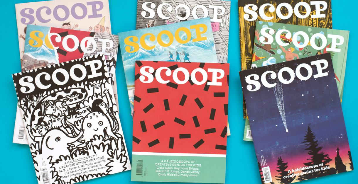how to make your own magazine workshop with scoop
