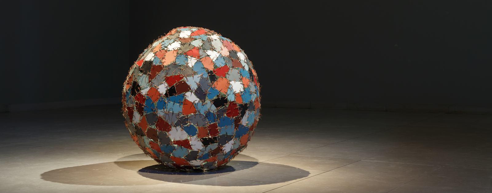 Kader Attia - Chaos + Repair = Universe, 2014