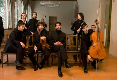 Spira mirabilis in rehearsal in Formigine, Italy