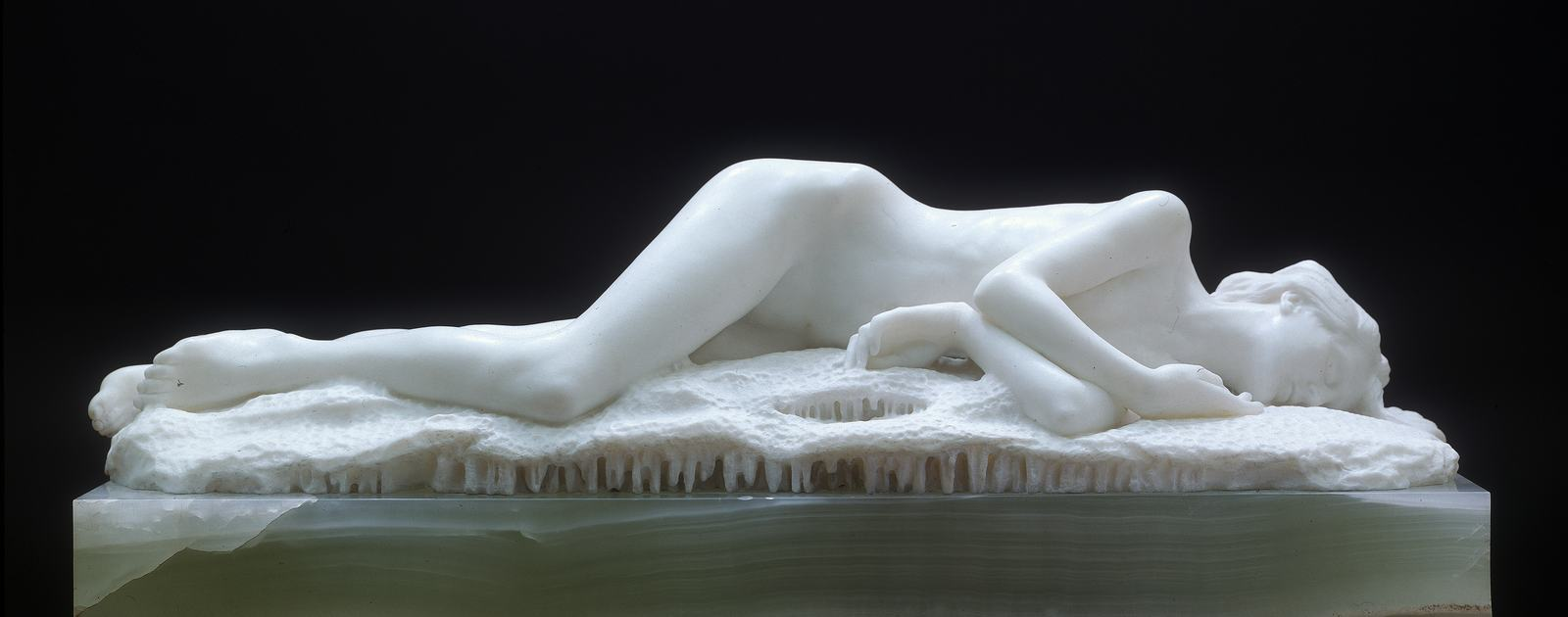 Edward Onslow Ford, Snowdrift, 1901. Artwork part of Hayward Touring's exhibition 'Elizabeth Price Curates: IN A DREAM YOU SAY A WAY TO SURVIVE AND YOU WERE FULL OF JOY', 2016-17.