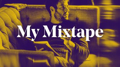 Graphic featuring Roo Panes and the text 'My Mixtape'