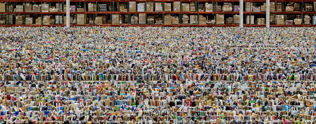 Andreas Gursky, Amazon, 2016 (detail)